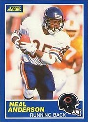 Neal Anderson - RB #35